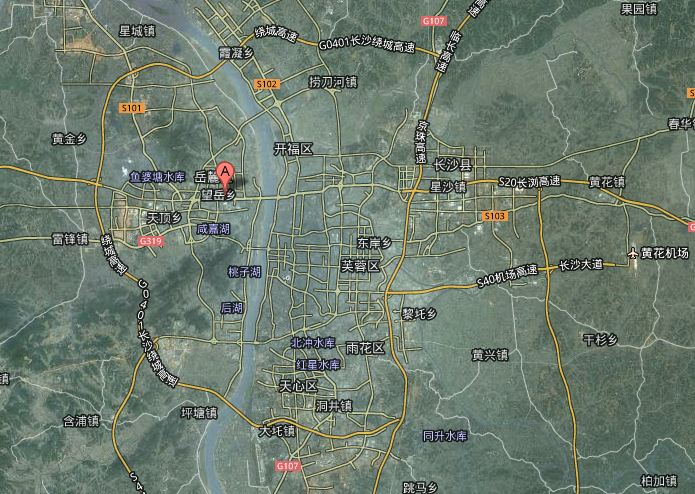 Changsha Map