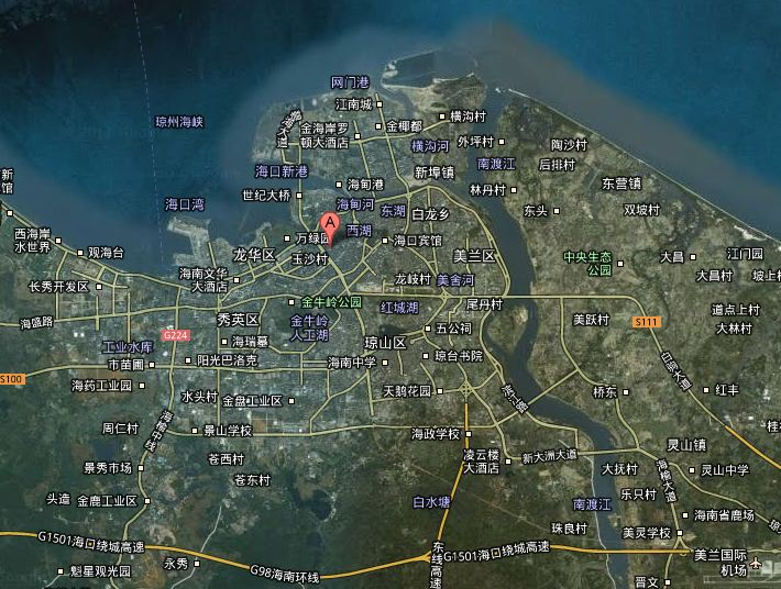 Haikou Map