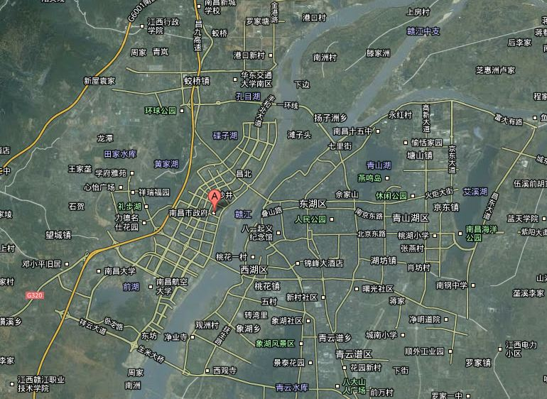 Nanchang Map