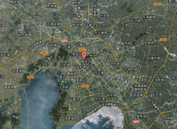 Wuxi Map